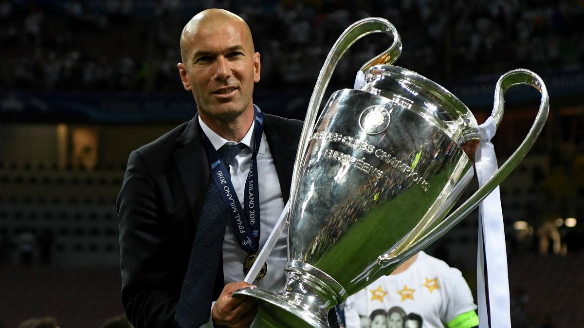 Zidane posa con La Undécima. (Getty)