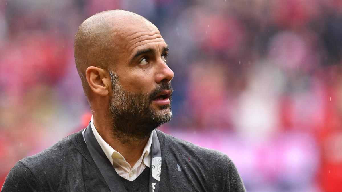 Pep Guardiola, en su época en Múnich. (Getty)