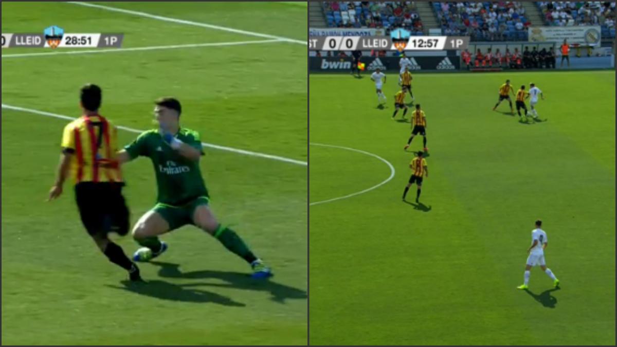 Las dos jugadas polémicas del partido.