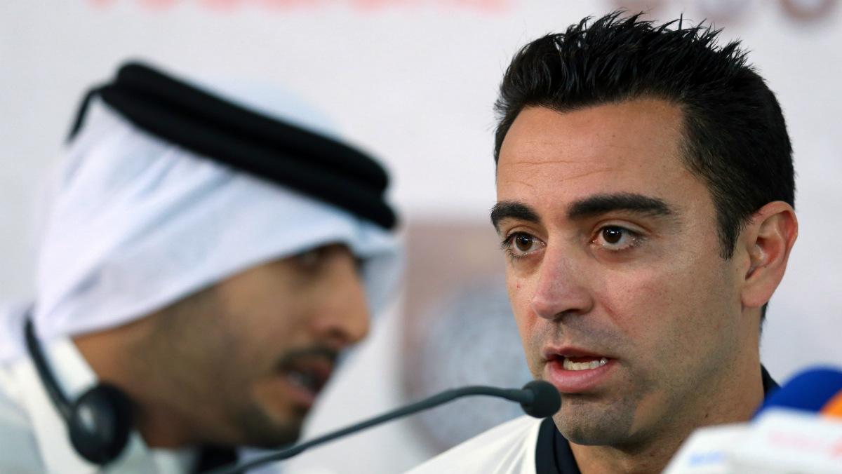 Xavi, un culé atrapado en Qatar. (Getty)