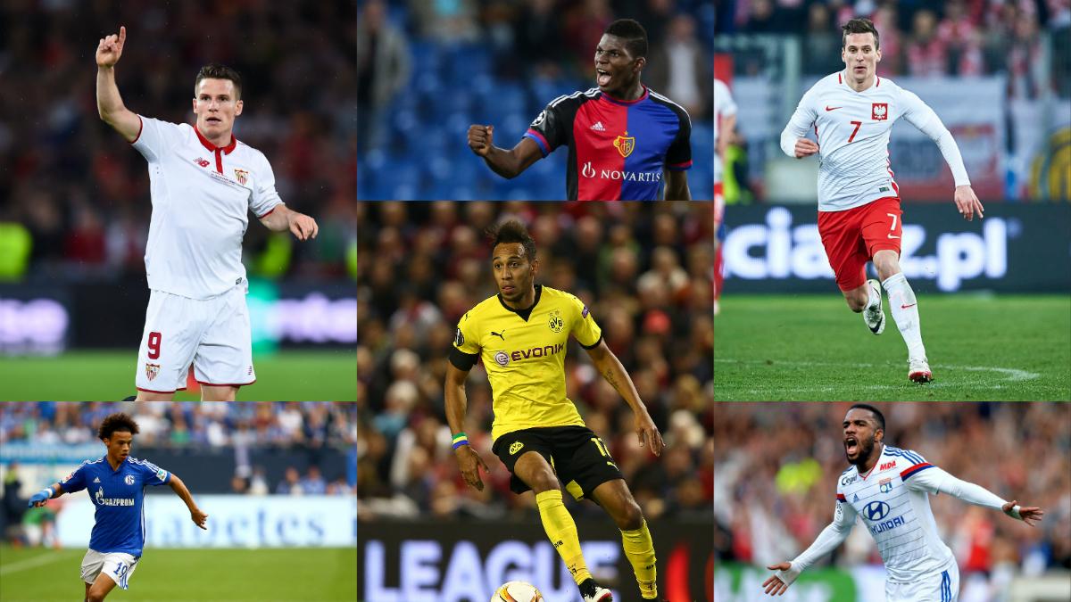 La lista de 'nueves' del Real Madrid por si falla Lewandowski