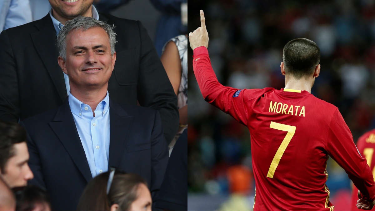 Mourinho quiere a Morata en el United. (Getty)