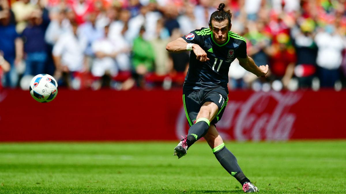 Bale marcó contra Inglaterra. (Getty)