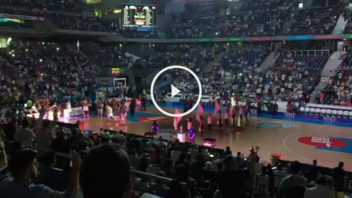 El Palacio vibró con una presentación al más puro estilo NBA