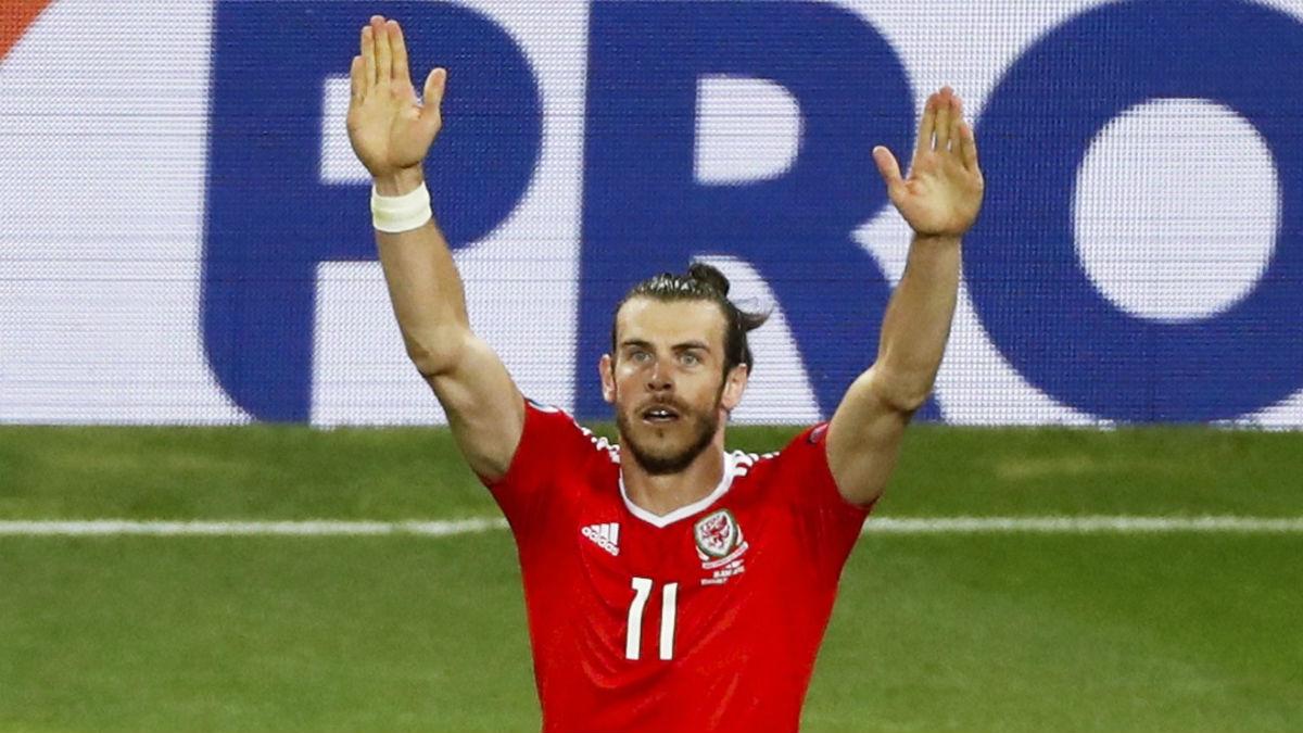 Bale, en el partido contra Rusia. (Reuters)