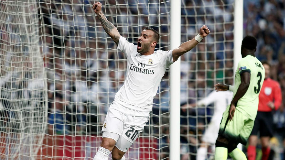Jesé celebra un gol del Real Madrid. (Getty)