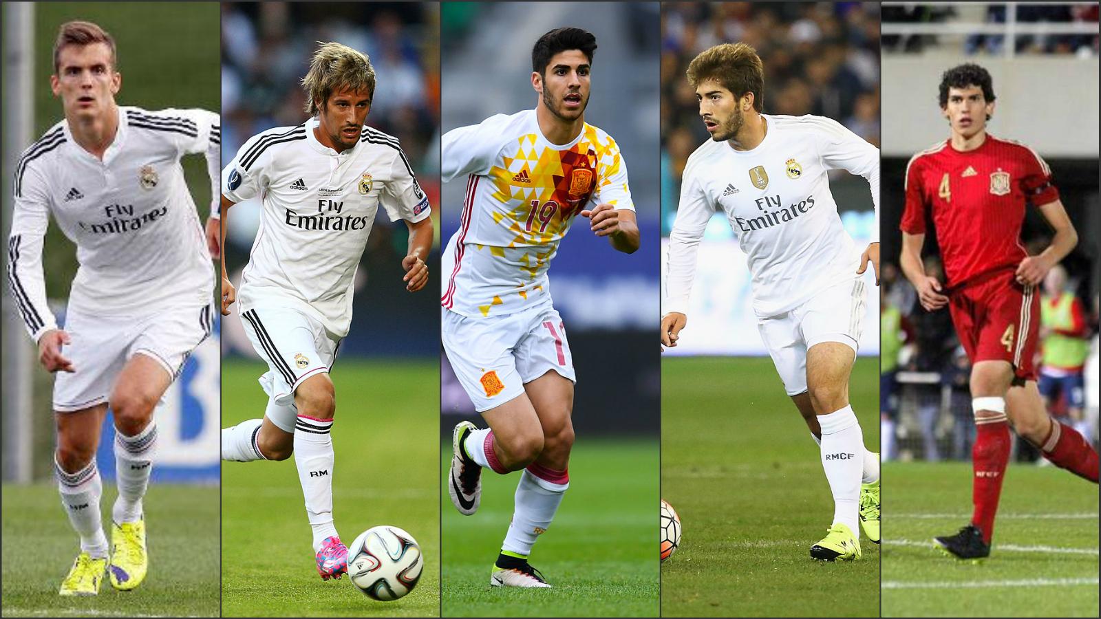 Llorente, Coentrao, Asensio, Lucas Silva y Vallejo.