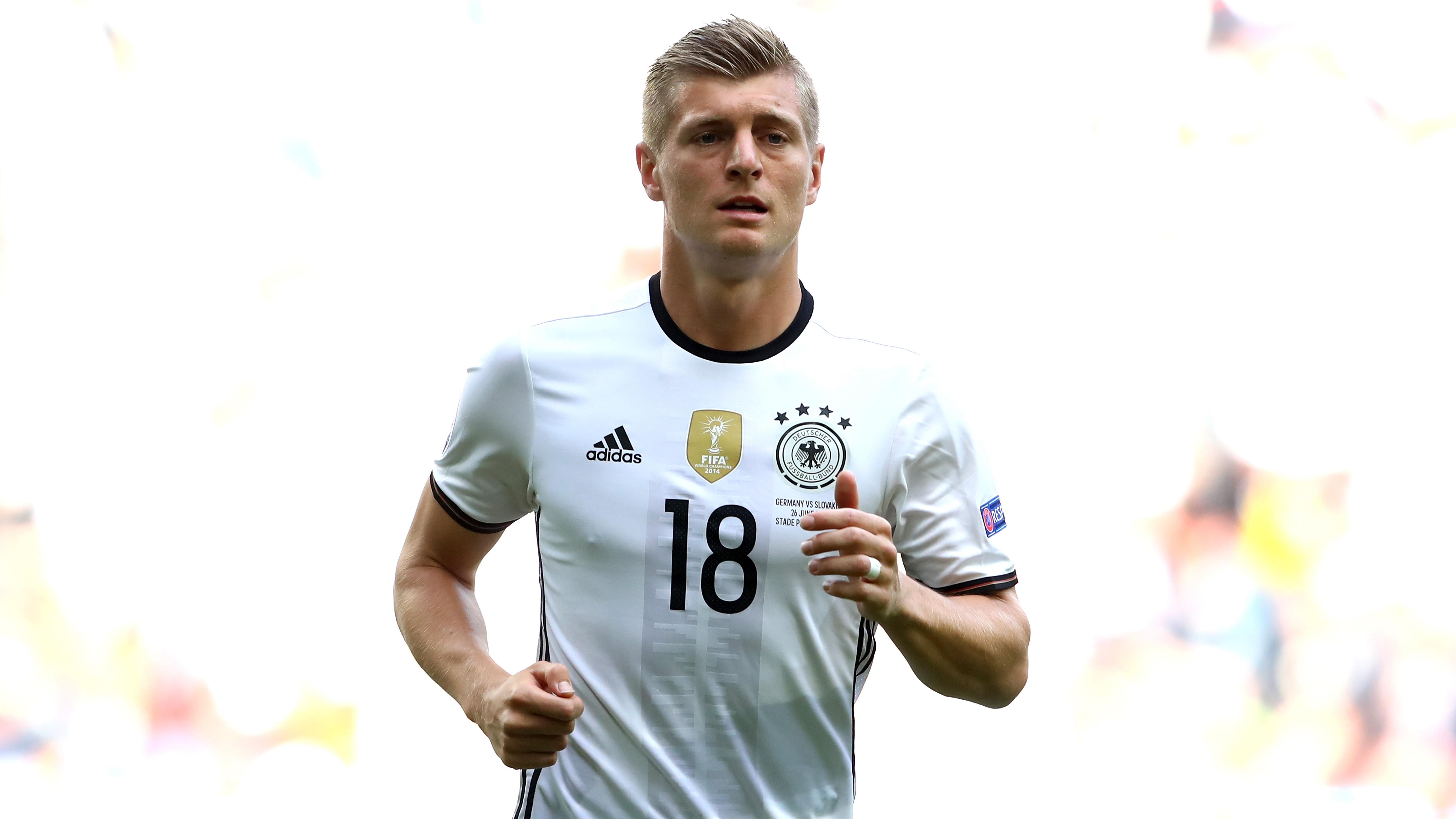 Toni Kroos, durante un partido de la Eurocopa.