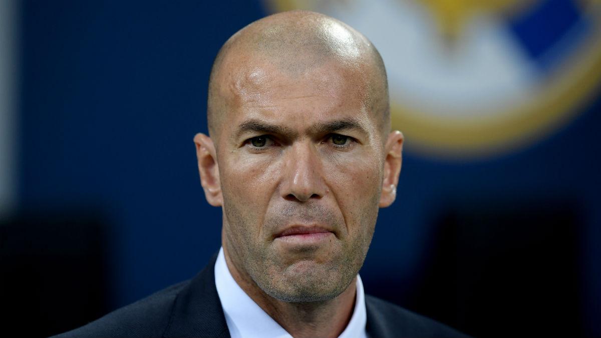 Zidane se encontrará con más de 30 jugadores en esta pretemporada. (Getty)