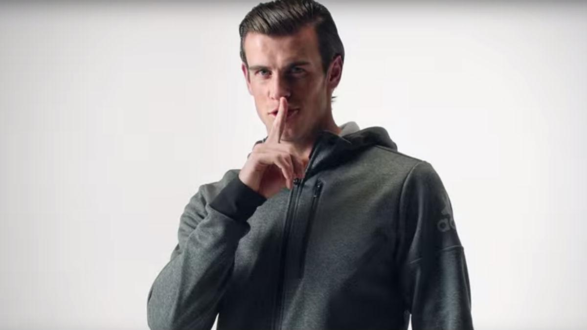 Bale, en un anuncio de Adidas.