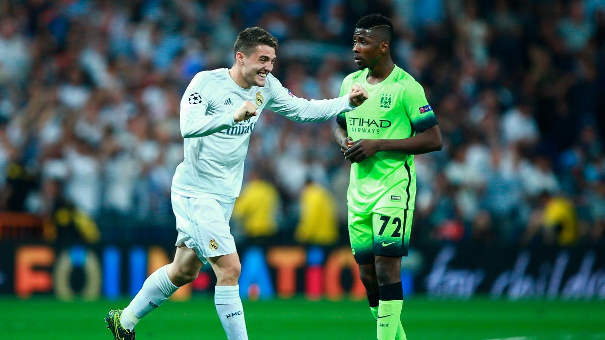 Mateo Kovacic, en un partido frente al Manchester City. (Getty)