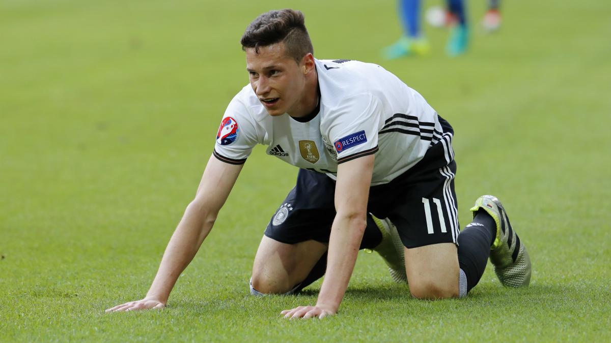 Draxler, en un partido con Alemania. (Reuters)