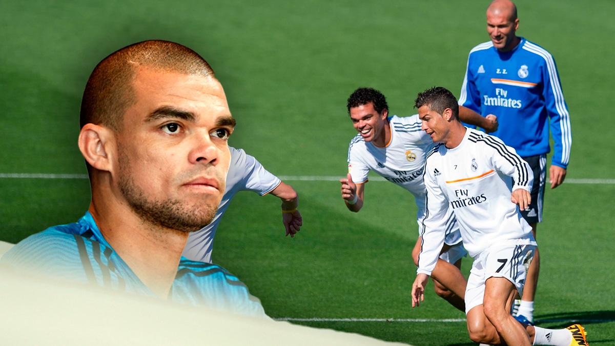 Zidane quiere la renovación de Pepe.