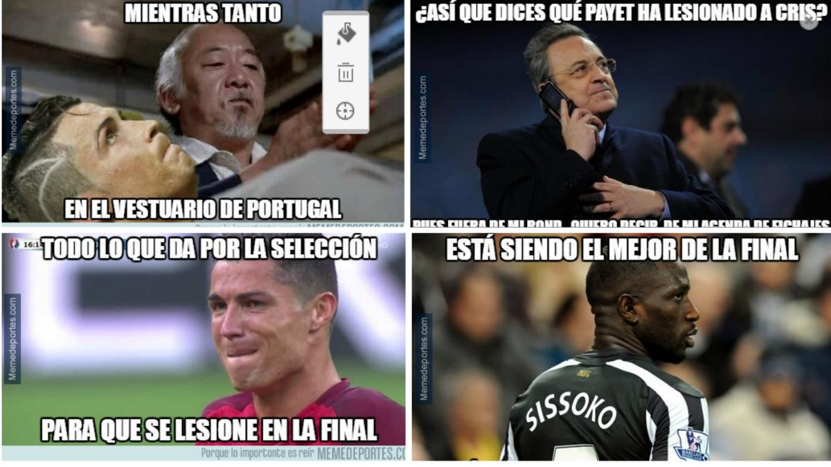 Los mejores memes de la final de la Eurocopa.
