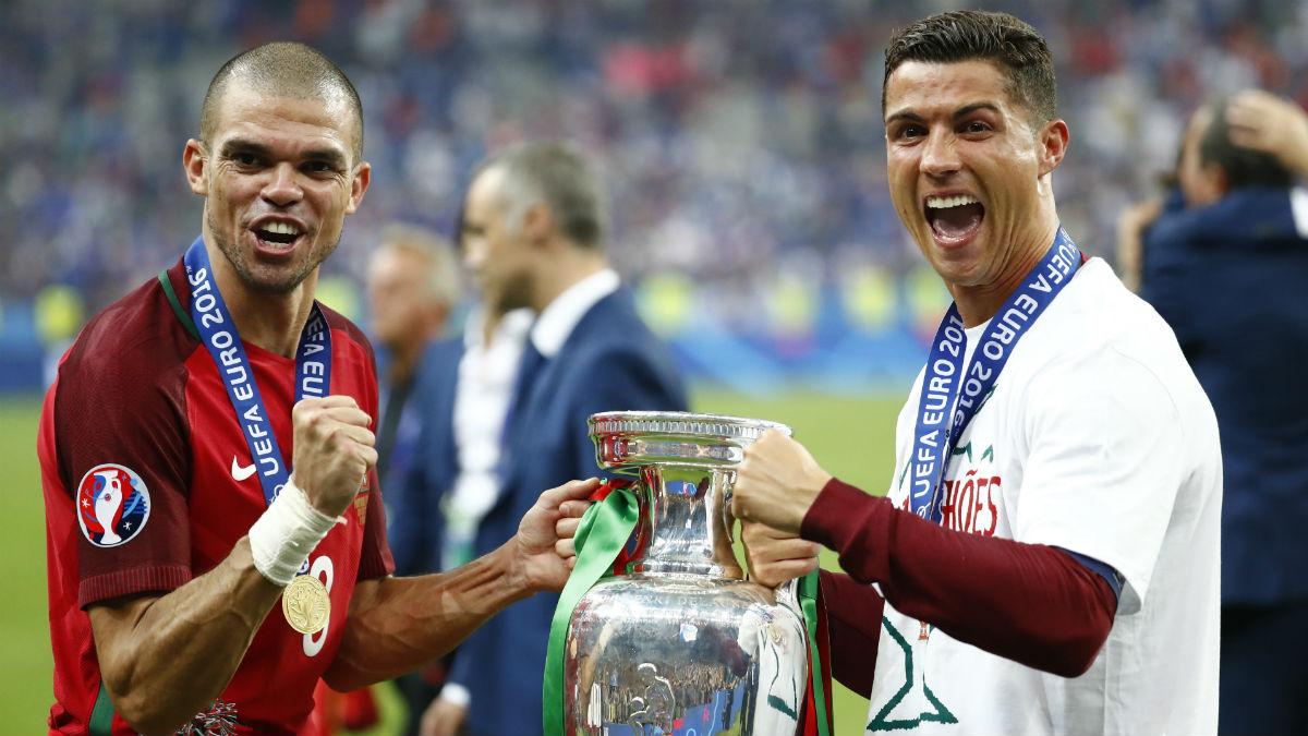 Pepe, MVP de la final. (Reuters)