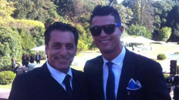 Paulo Futre y Cristiano Ronaldo.