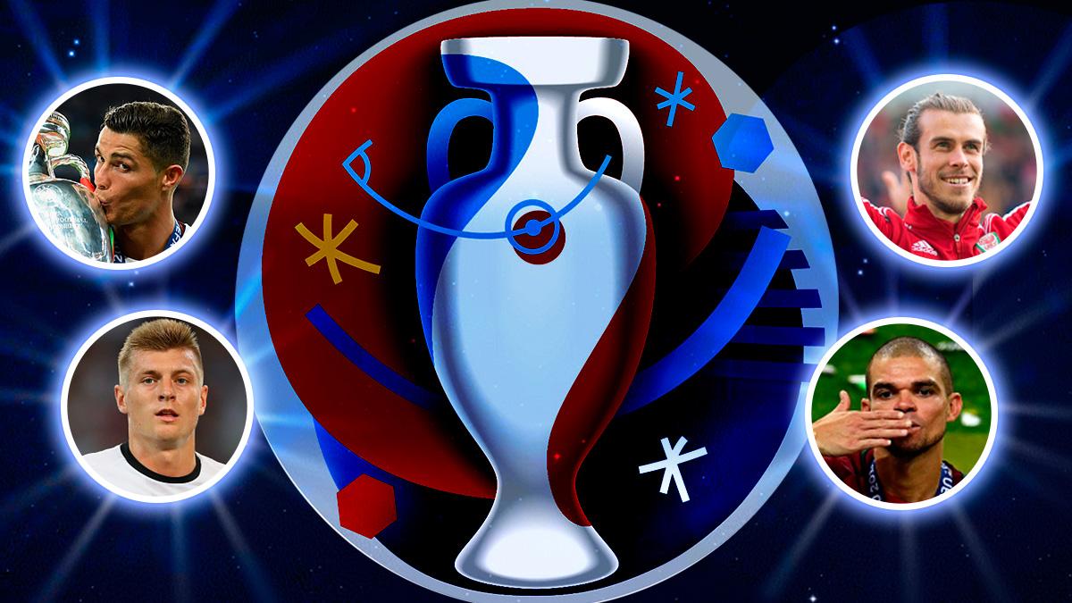 Los mejores jugadores de la Eurocopa defienden los colores del Real Madrid.
