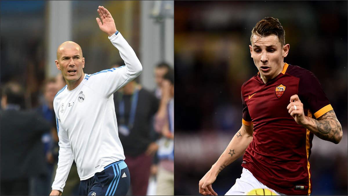 Zidane es el ídolo de Lucas Digne.
