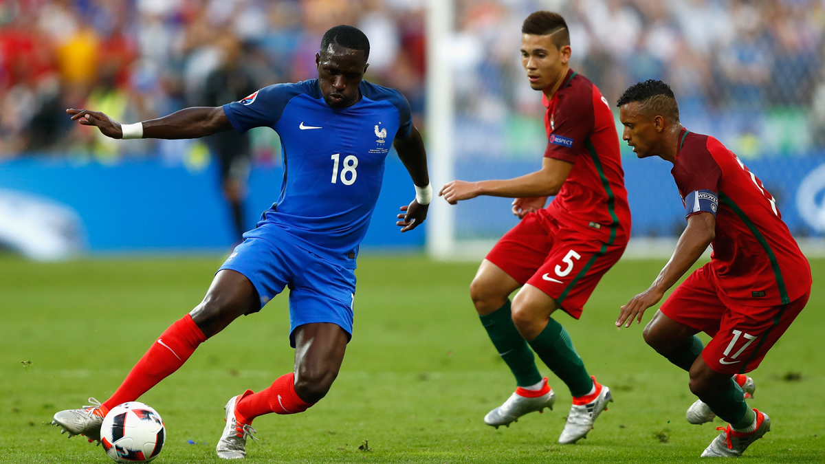 Sissoko, durante la final de la Eurocopa. (Reuters)