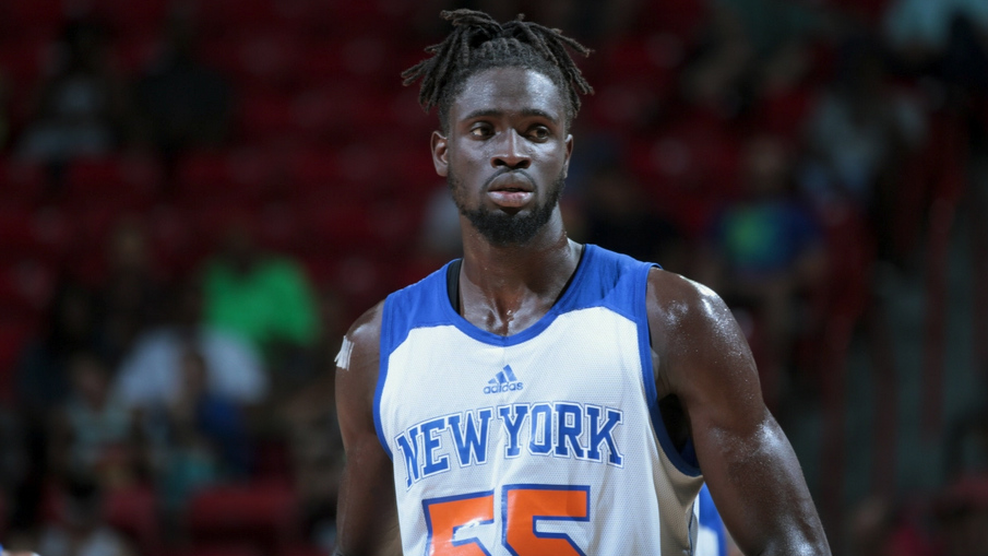 Maurice N'Dour se marcha del Real Madrid a los Knicks.