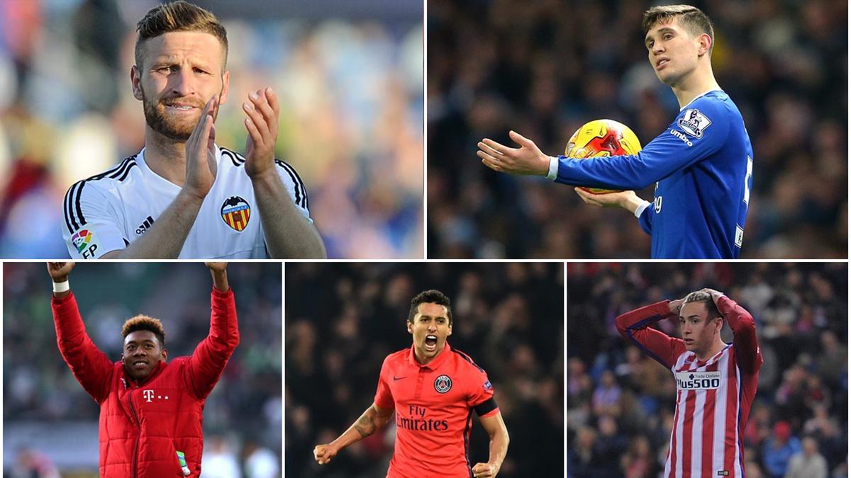 Algunas de las opciones que maneja el Real Madrid para reforzar la zaga.