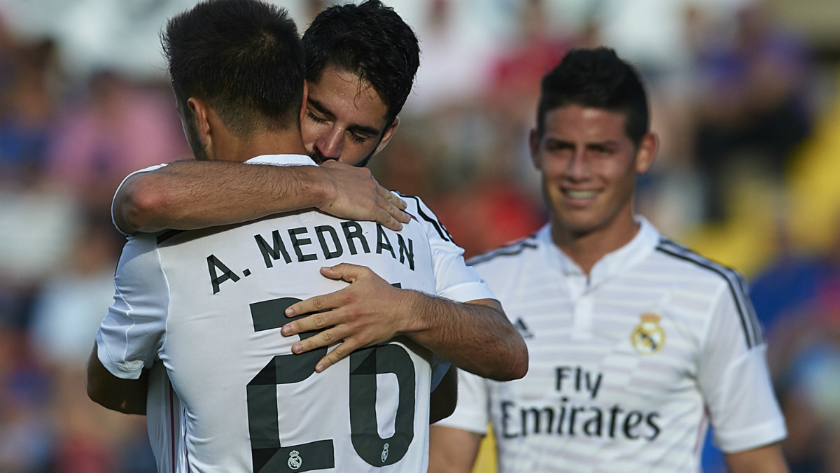 Medrán se ha despedido del Madrid con una carta. (Getty)