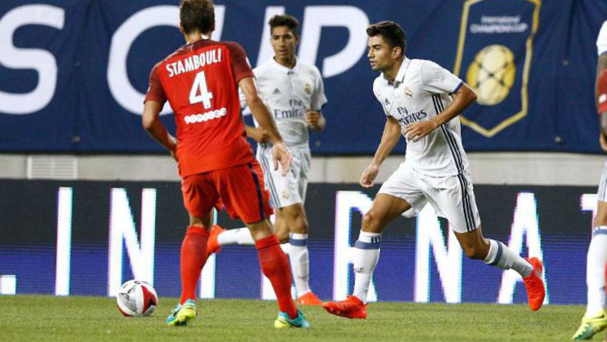Enzo debuta con el Real Madrid. (Realmadrid.com)