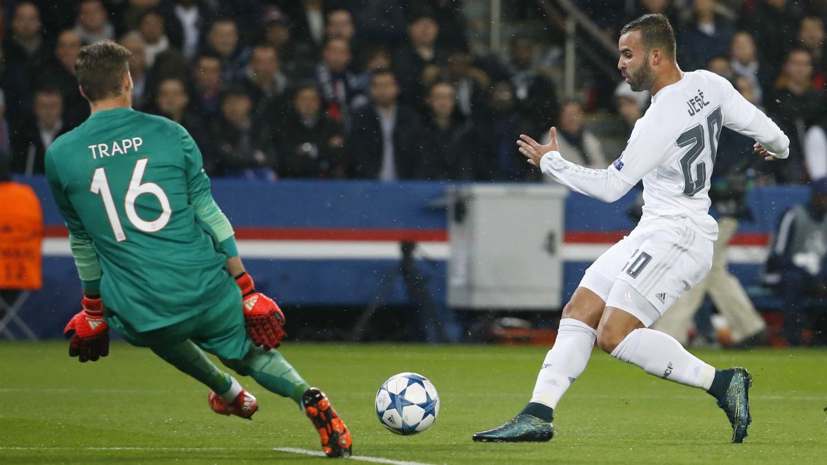Jesé, en un partido frente al PSG.  (AFP)
