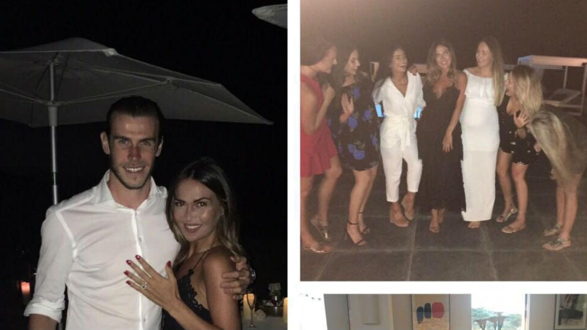 Bale durante sus vacaciones. (Twitter Gareth Bale)
