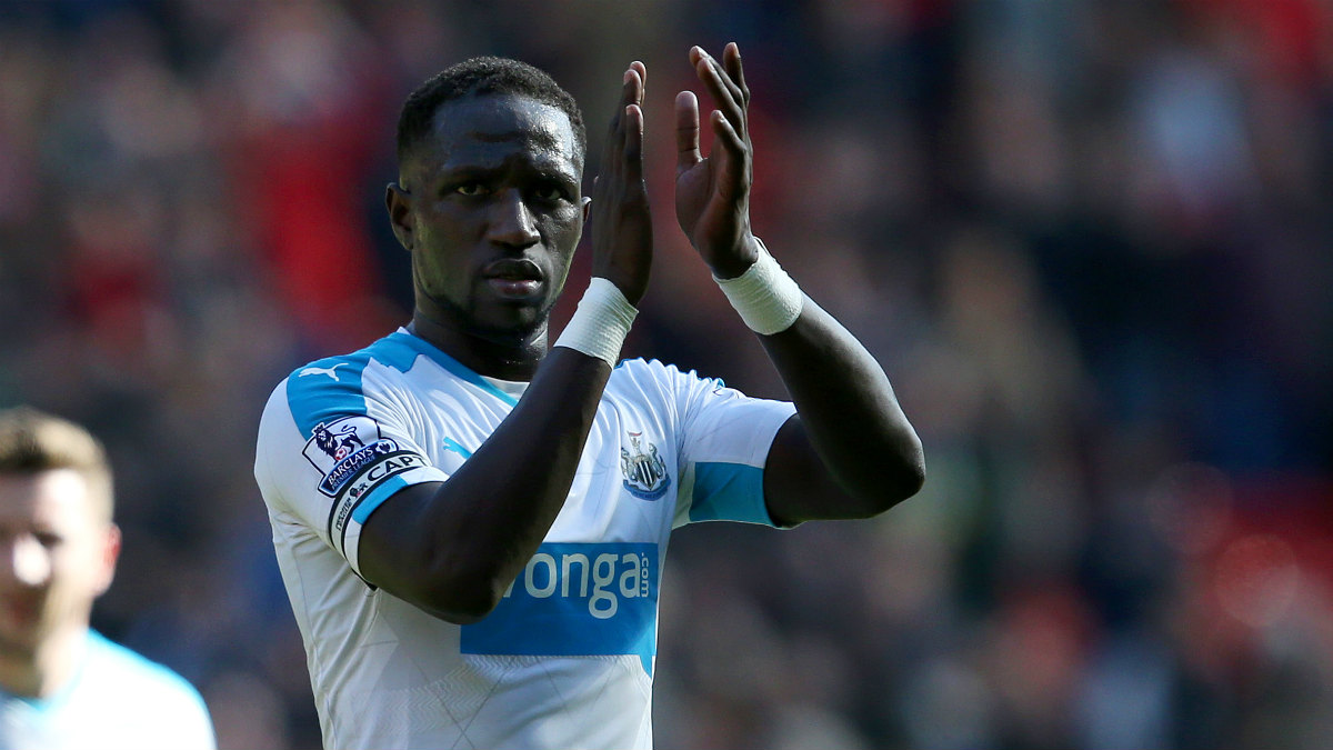 Moussa Sissoko, con el Newcastle. (Getty)