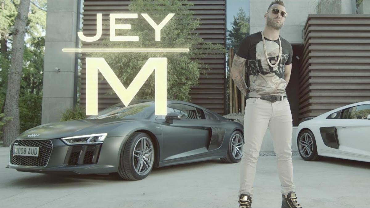 Jesé Rodríguez, en un videoclip en su faceta como cantante.