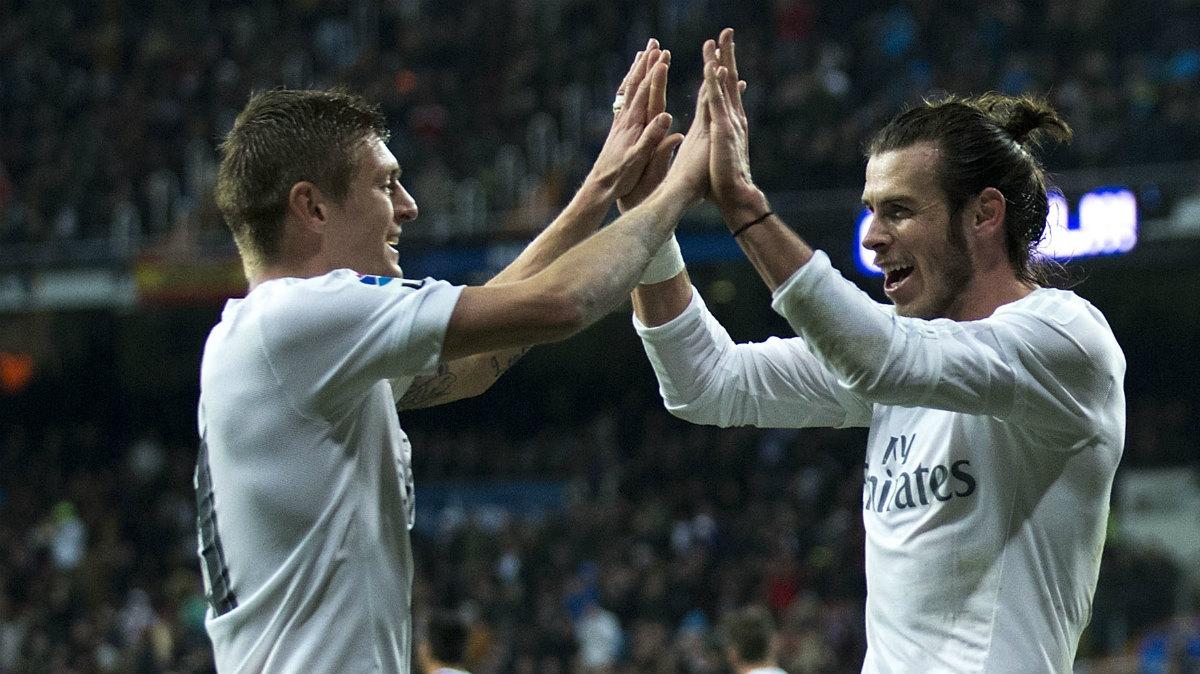 Kroos y Bale, novedades de Zidane en la lista para la Supercopa. (AFP)