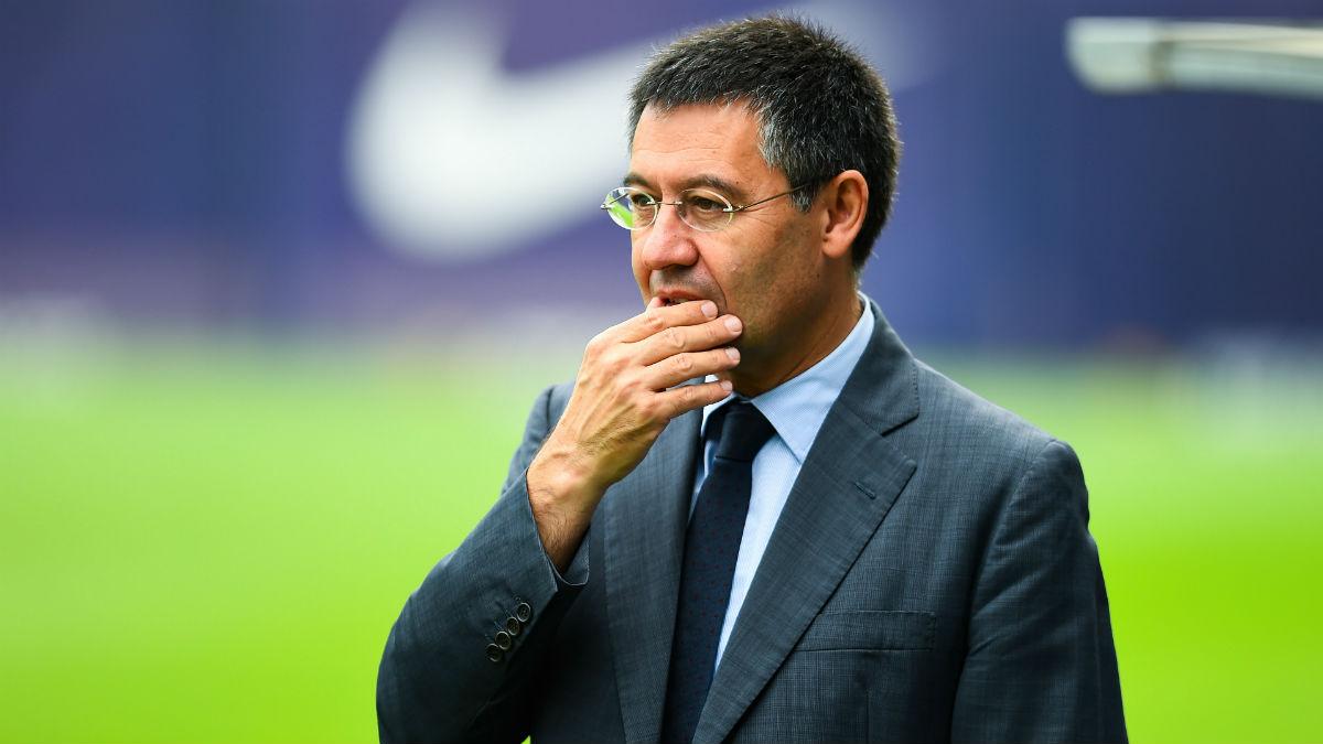 Josep María Bartomeu ha estado tres años engañando a los socios. (Getty)