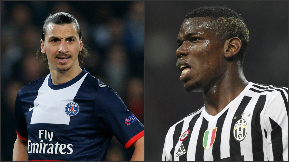 Ibrahimovic y Pogba jugarán juntos en el Manchester United.