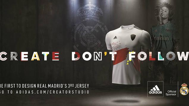 La camiseta del Real Madrid será diseñada por los aficionados.
