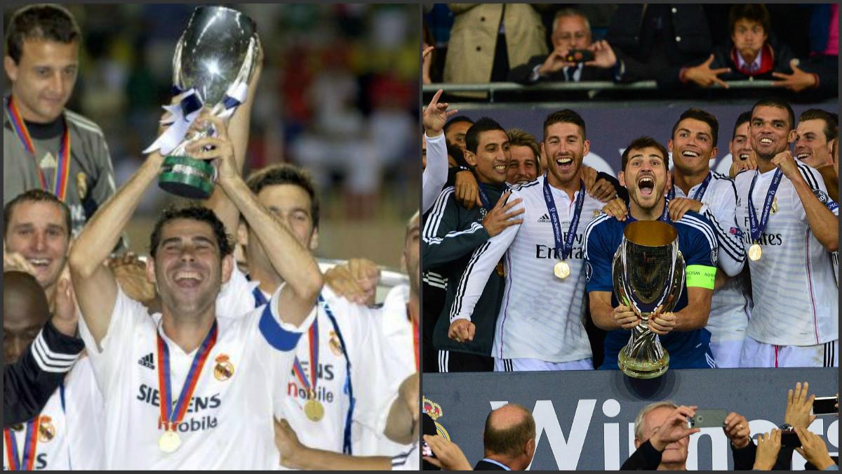 El Real Madrid busca su tercera Supercopa de Europa.