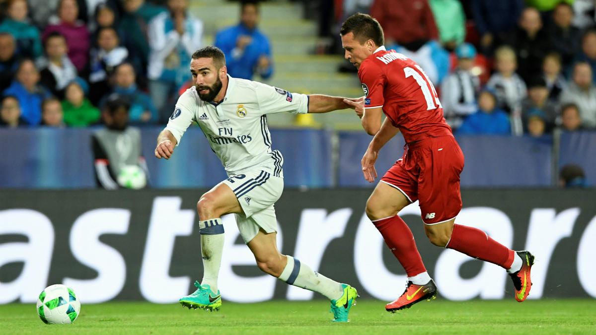 Dani Carvajal, héroe ante el Sevilla. (AFP)