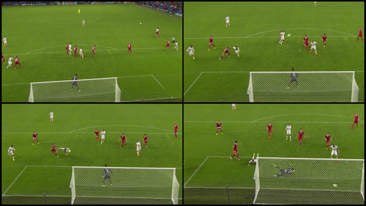 El gol de Sergio Ramos fue anulado.