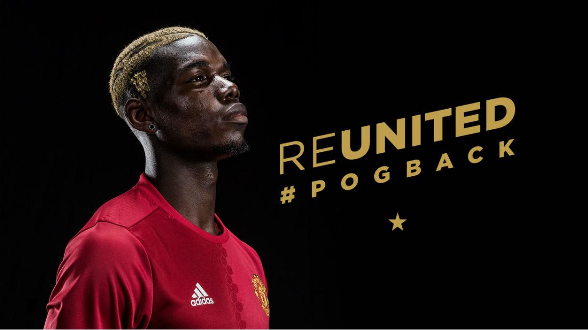 El United hace oficial el fichaje del Pogba. (Manutd.com)