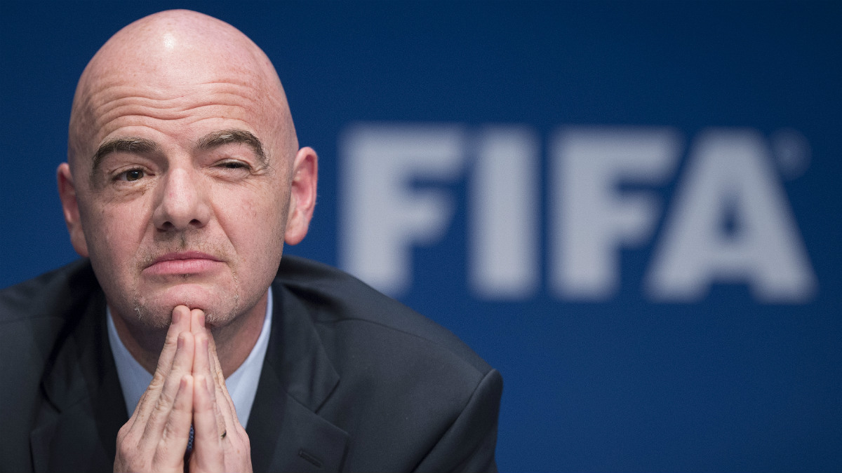 Gianni Infantino, presidente de la FIFA. (Getty)