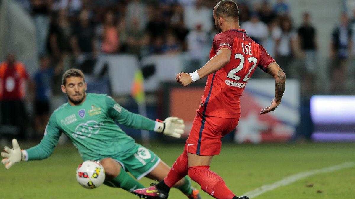 Jesé Rodríguez debuta con el PSG. (AFP)