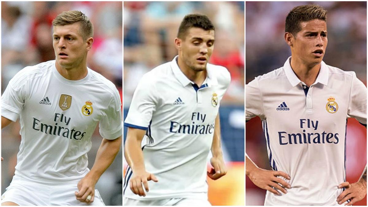 Kroos, Kovacic y James Rodríguez, las alternativas de Zidane para suplir la baja de Modric en Anoeta.