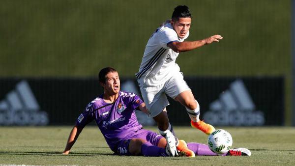 Sergio Díaz, el mejor frente al Valladolid. (realmadrid.com)