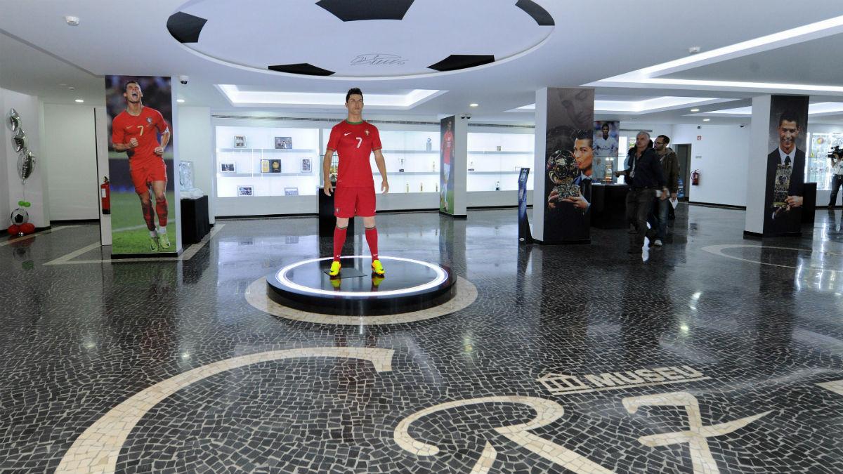 El museo de Cristiano Ronaldo en Madeira.