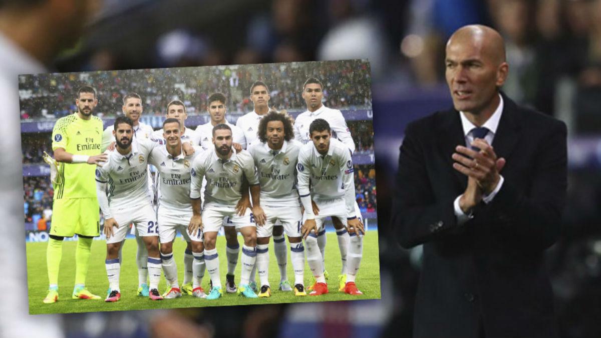 Zidane se plantea repetir en Anoeta el once de la Supercopa