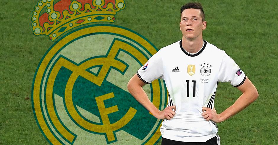 Draxler, objetivo del Real Madrid si se va James.