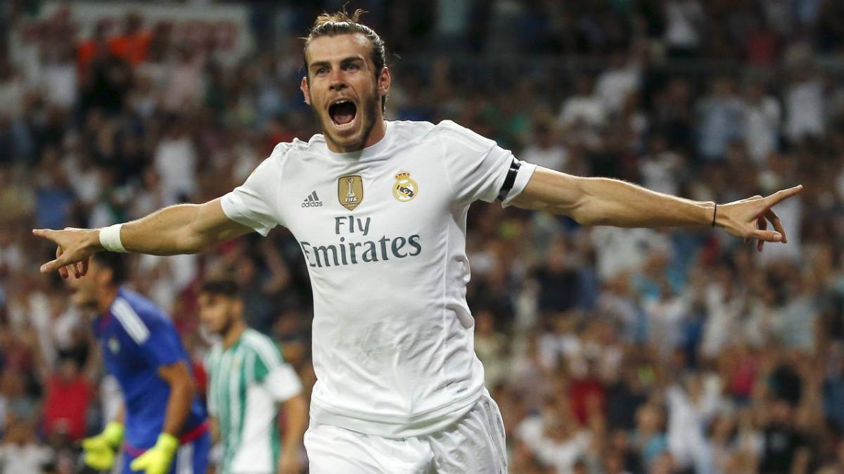 Gareth Bale inicia su cuarta temporada en el Real Madrid. (AFP)