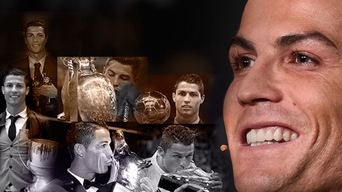 Cristiano Ronaldo sigue coleccionando títulos en su museo.