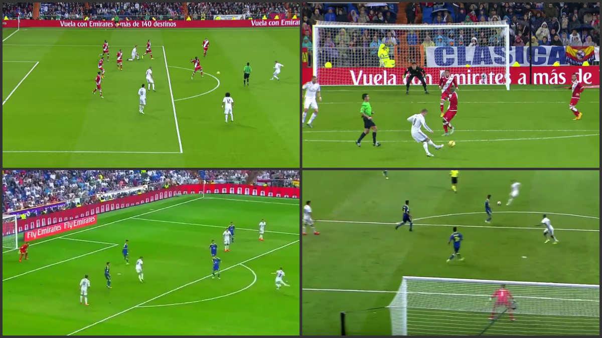Kroos calcó el gol que marcó al Rayo Vallecano