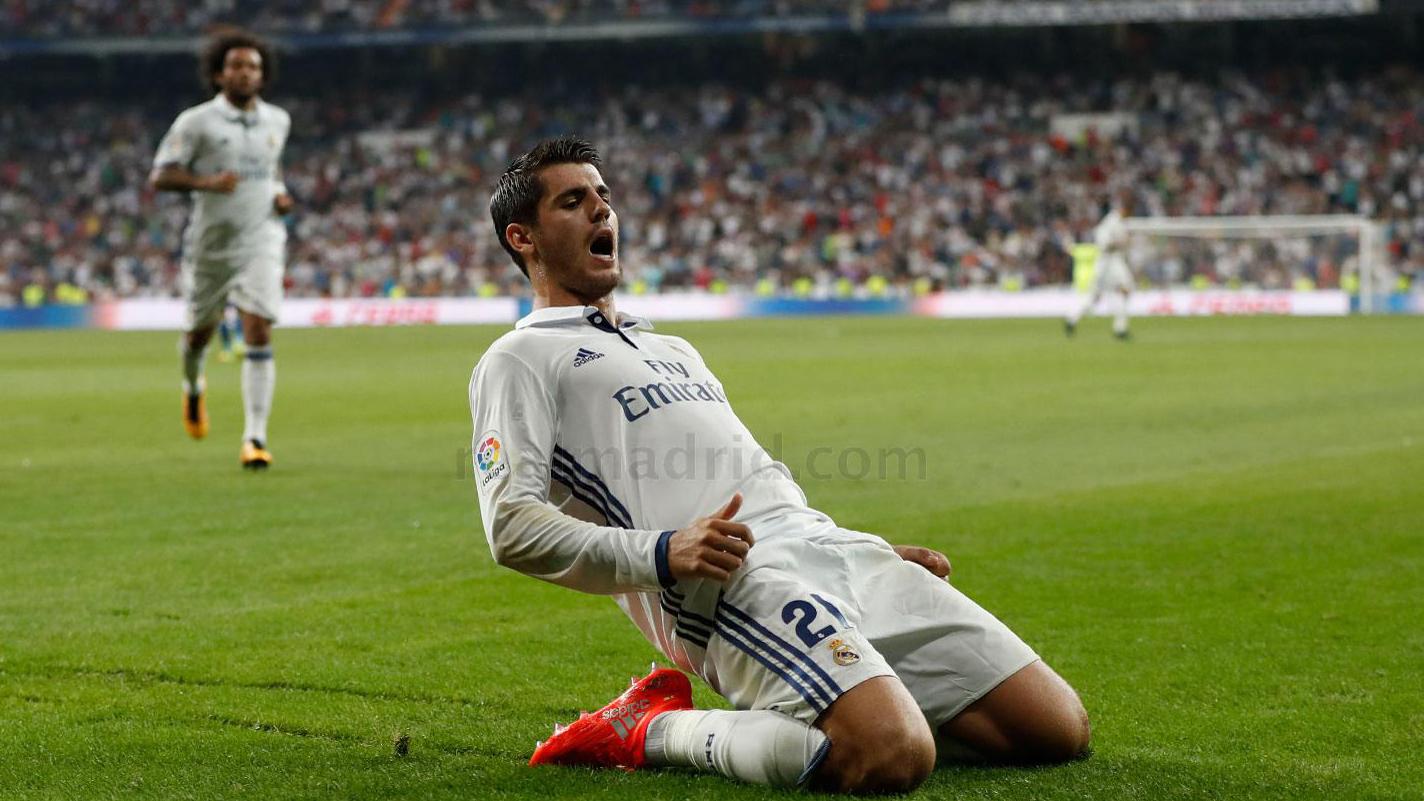 Morata abrió el camino de la victoria